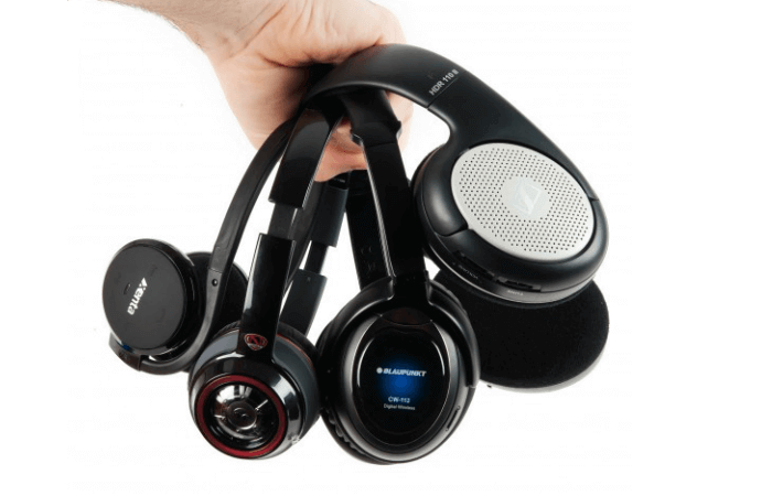 type bluetooth headphones