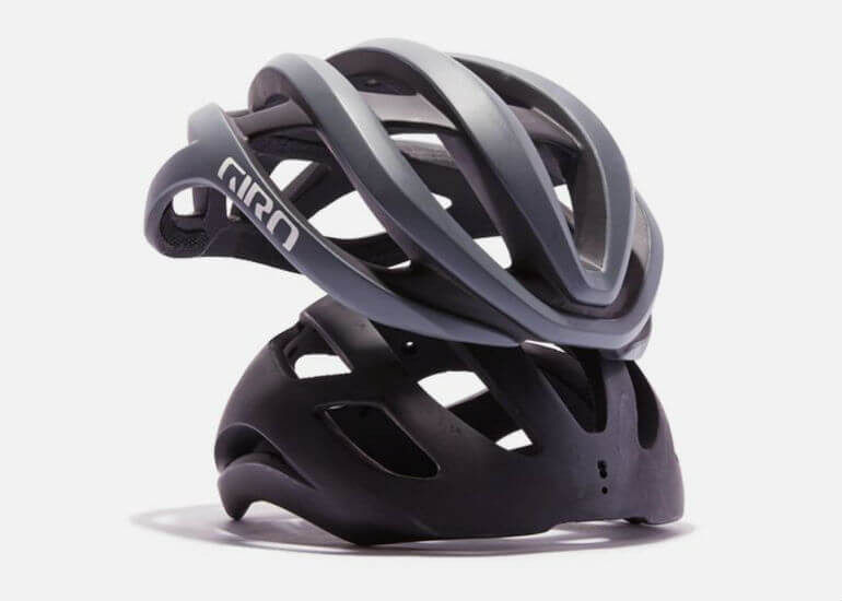 how is a bicycle helmet made