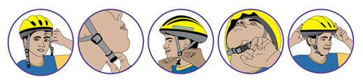 fit bicycle helmet