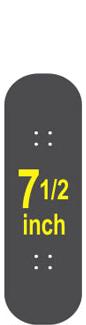 7-1/2 Skateboard Deck