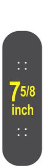 7-5/8 Skateboard Deck