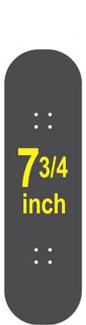 7-3/4 Skateboard Deck