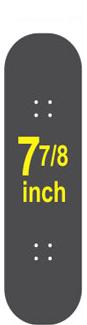 7-7/8 Skateboard Deck