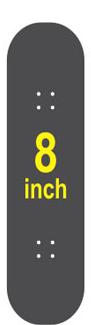 8 Skateboard Deck