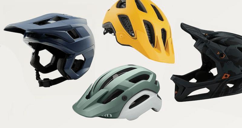 mountain bike helmet color